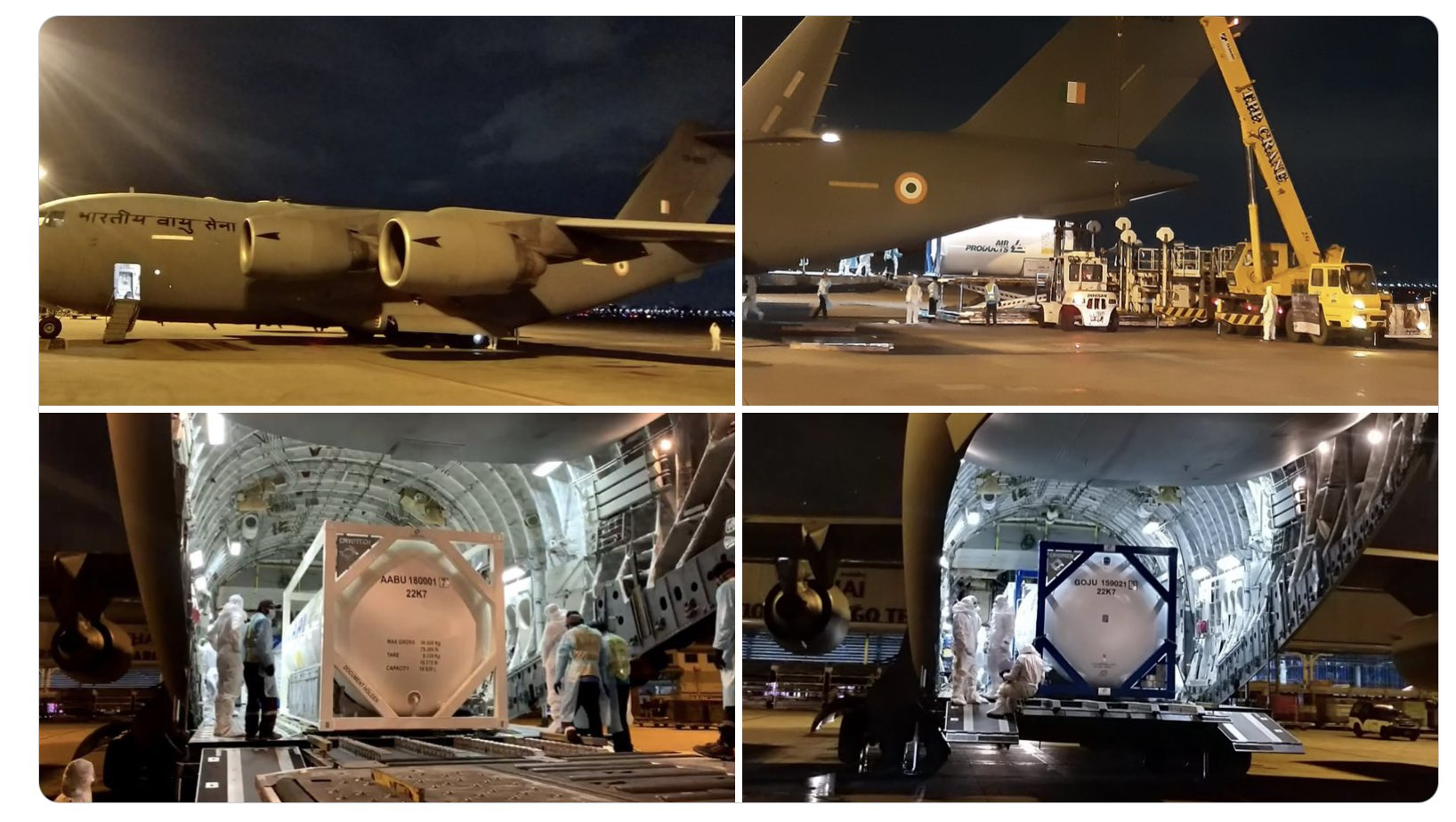IAF COVID relief